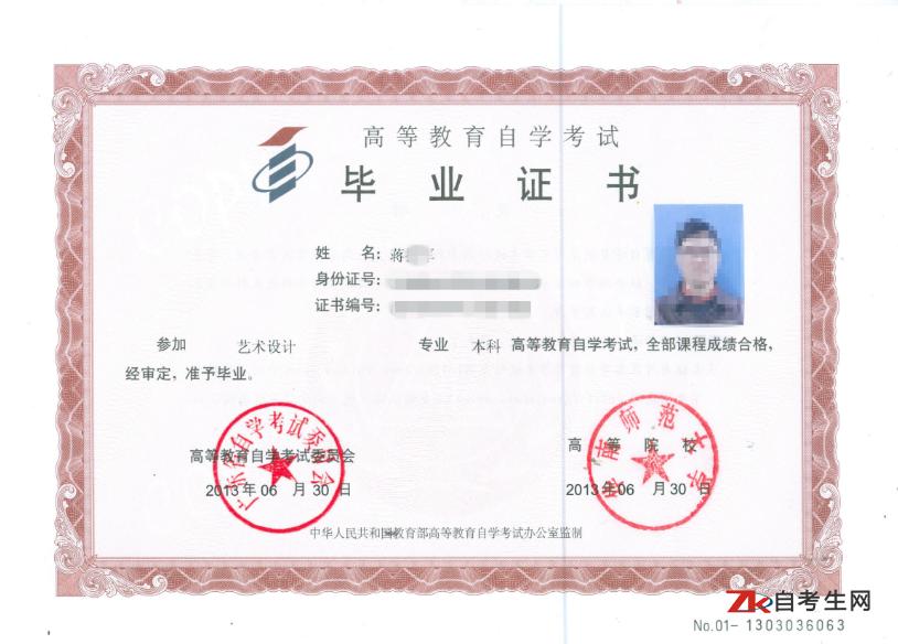 广东自考毕业证